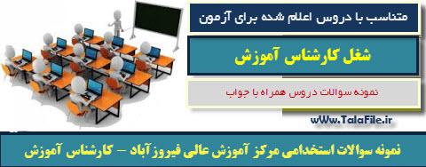 مرکز آموزش عالی فیروزآباد